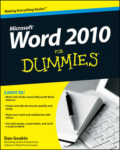 Dan Gookin Word 2010 For Dummies dan gookin word 2007 for dummies