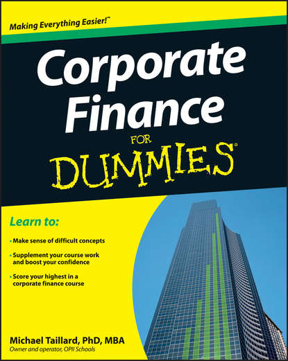 цены Michael Taillard Corporate Finance For Dummies