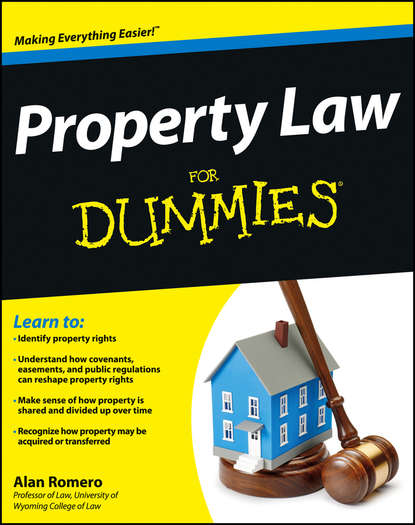 Alan Romero R. Property Law For Dummies alison baxter lost property