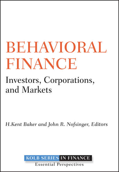 H. Baker Kent Behavioral Finance. Investors, Corporations, and Markets behavioral changes during peak fertility of women