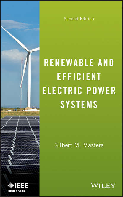 Gilbert Masters M. Renewable and Efficient Electric Power Systems zongxiang lu integration of large scale wind energy with electrical power systems in china