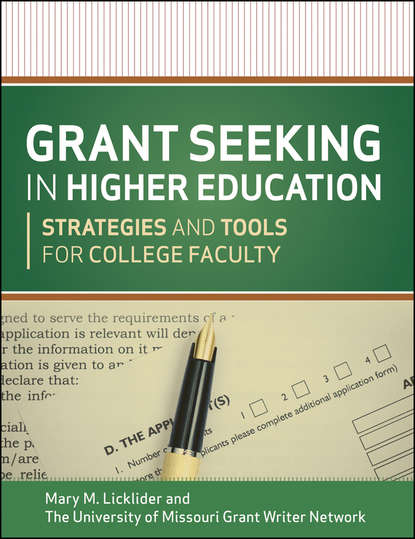 The University of Missouri Grant Writer Network Grant Seeking in Higher Education. Strategies and Tools for College Faculty allan hackshaw how to write a grant application