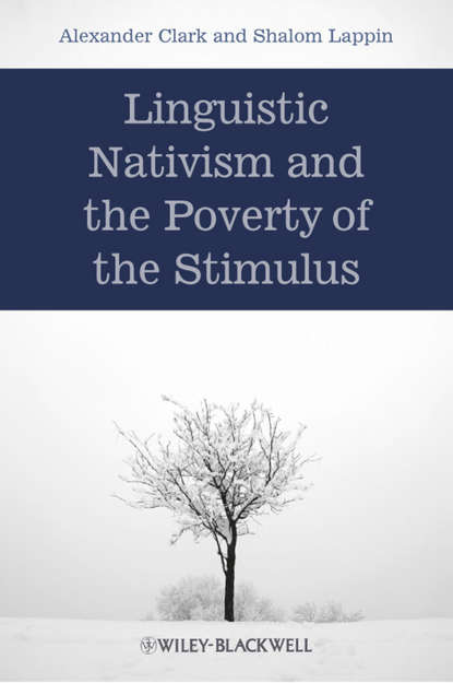 Lappin Shalom Linguistic Nativism and the Poverty of the Stimulus comparison of cognitive and language abilities of preschool children