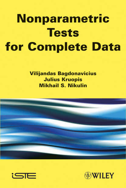 Фото - Mikhail S. Nikulin Nonparametric Tests for Complete Data mikhail s nikulin nonparametric tests for complete data