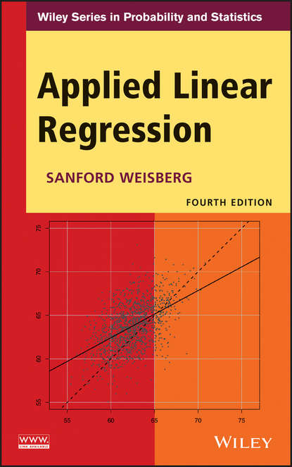 Фото - Sanford Weisberg Applied Linear Regression lukasz prochownik linear predictive regression framework