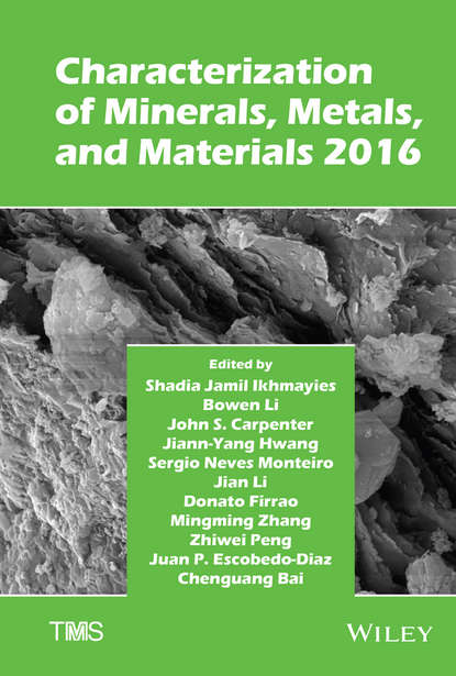 Jian Li Characterization of Minerals, Metals, and Materials 2016 characterization of protea witches broom phytoplasma
