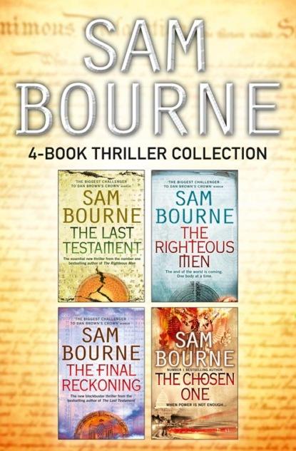 Sam Bourne Sam Bourne 4-Book Thriller Collection sam bourne the final reckoning