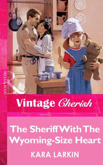 Kara Larkin The Sheriff With The Wyoming-Size Heart printio sheriff