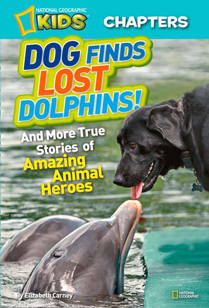 Elizabeth Carney National Geographic Kids Chapters: Dog Finds Lost Dolphins: And More True Stories of Amazing Animal Heroes недорого