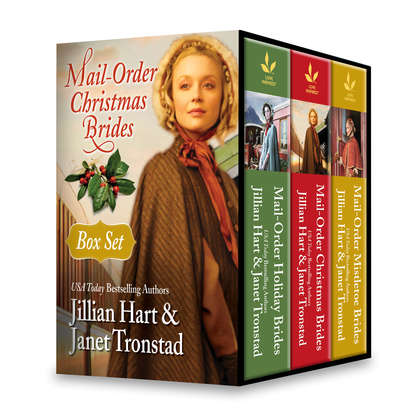 Janet Tronstad Mail-Order Christmas Brides Boxed Set: Her Christmas Family / Christmas Stars for Dry Creek / Home for Christmas / Snowflakes for Dry Creek / Christmas Hearts / Mistletoe Kiss in Dry Creek jillian hart patchwork bride