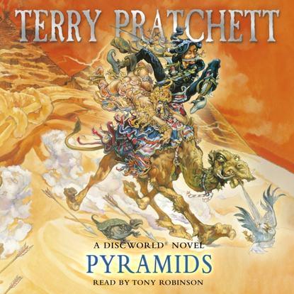 Terry Pratchett Pyramids pratchett terry wings