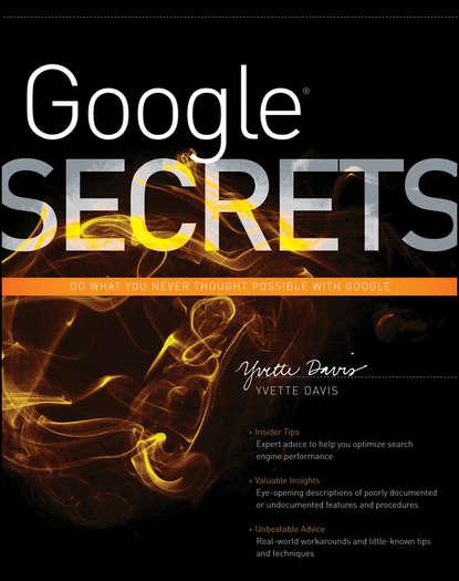 go google Yvette Davis Google Secrets