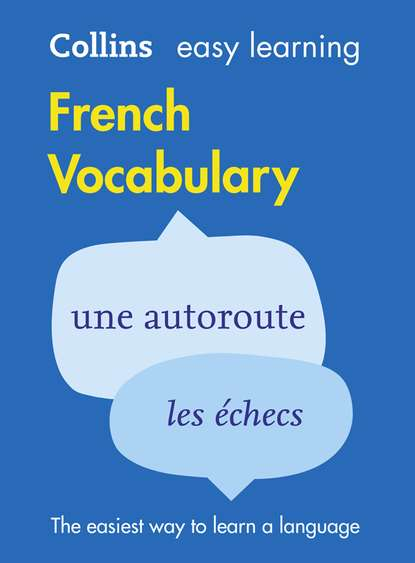 Collins Dictionaries Easy Learning French Vocabulary недорого