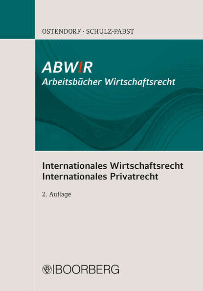 Patrick Ostendorf Internationales Wirtschaftsrecht Internationales Privatrecht beatrice ermer internationales marketing