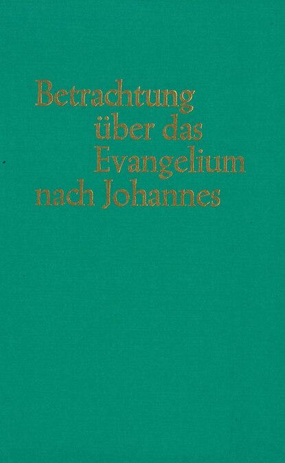 J.G. Bellet Betrachtungen über das Evangelium nach Johannes philipp vandenberg das fünfte evangelium