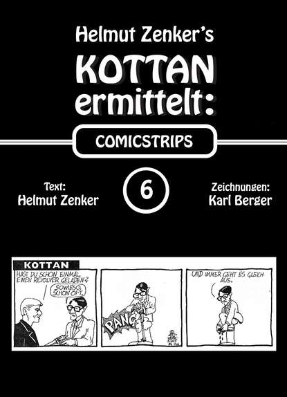 Фото - Helmut Zenker Kottan ermittelt: Comicstrips 6 helmut zenker kottan ermittelt new comicstrips 1