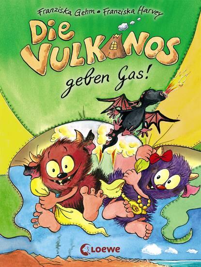 Franziska Gehm Die Vulkanos geben Gas! franziska gehm die vampirschwestern 12 ruhig blut frau ete petete