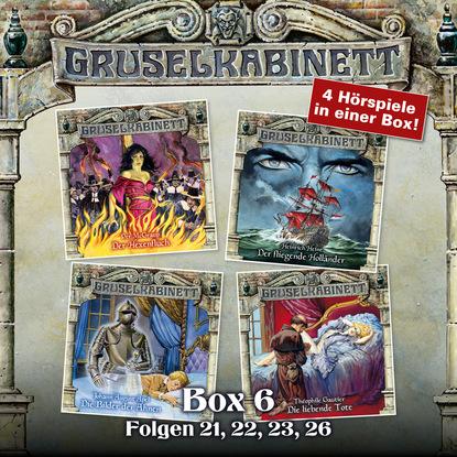 Фото - Theophile Gautier Gruselkabinett, Box 6: Folgen 21, 22, 23, 26 richard henry savage der fliegende eisvogel