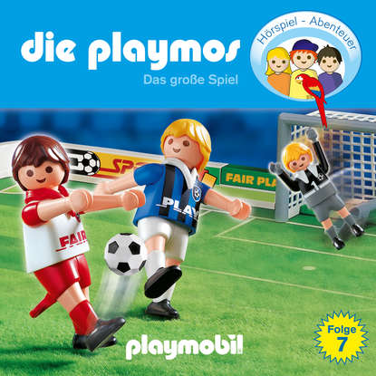 Simon X. Rost Die Playmos - Das Original Playmobil Hörspiel, Folge 7: Das große Spiel недорого