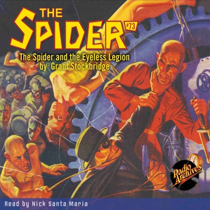 Фото - Grant Stockbridge The Spider and the Eyeless Legion - The Spider 73 (Unabridged) grant stockbridge pirates from hell the spider 83 unabridged