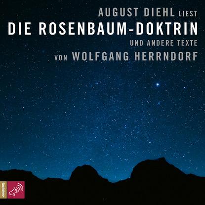 Wolfgang Herrndorf Die Rosenbaum-Doktrin - und andere Texte tschick