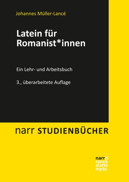 Johannes Müller-Lancé Latein für Romanist*innen anna donderer das teilnehmende beobachtungsverfahren als methodologie der qualitativen sozialforschung