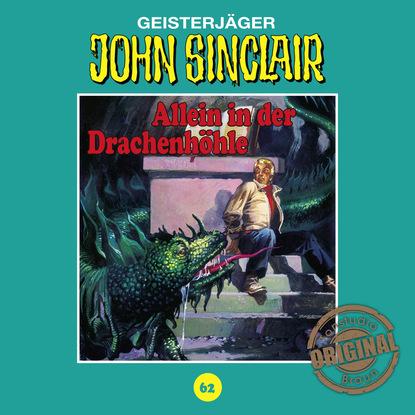 Jason Dark John Sinclair, Tonstudio Braun, Folge 62: Allein in der Drachenhöhle. Teil 2 von 3 jason dark john sinclair tonstudio braun folge 24 im land des vampirs teil 1 von 3