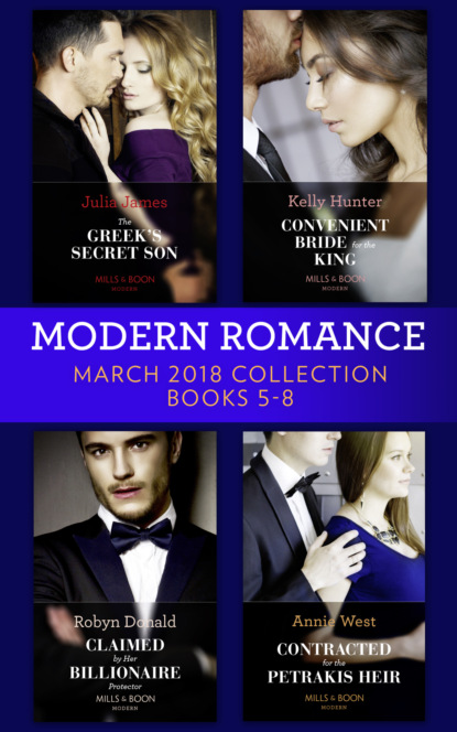 Robyn Donald Modern Romance Collection: March 2018 Books 5 - 8 robyn donald by request collection part 3