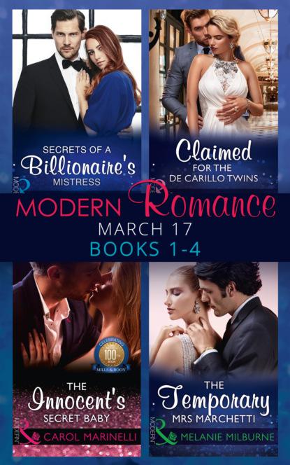 Modern Romance March 2017 Books 1 - 4
