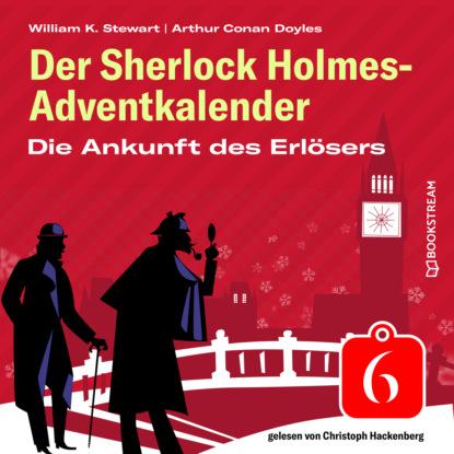 Sir Arthur Conan Doyle Die Ankunft des Erlösers - Der Sherlock Holmes-Adventkalender, Folge 6 (Ungekürzt) недорого