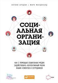 Социальная организация: Как с помощью социальных медиа задействовать коллективный разум ваших клиентов и сотрудников