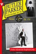 Butler Parker 176 – Kriminalroman