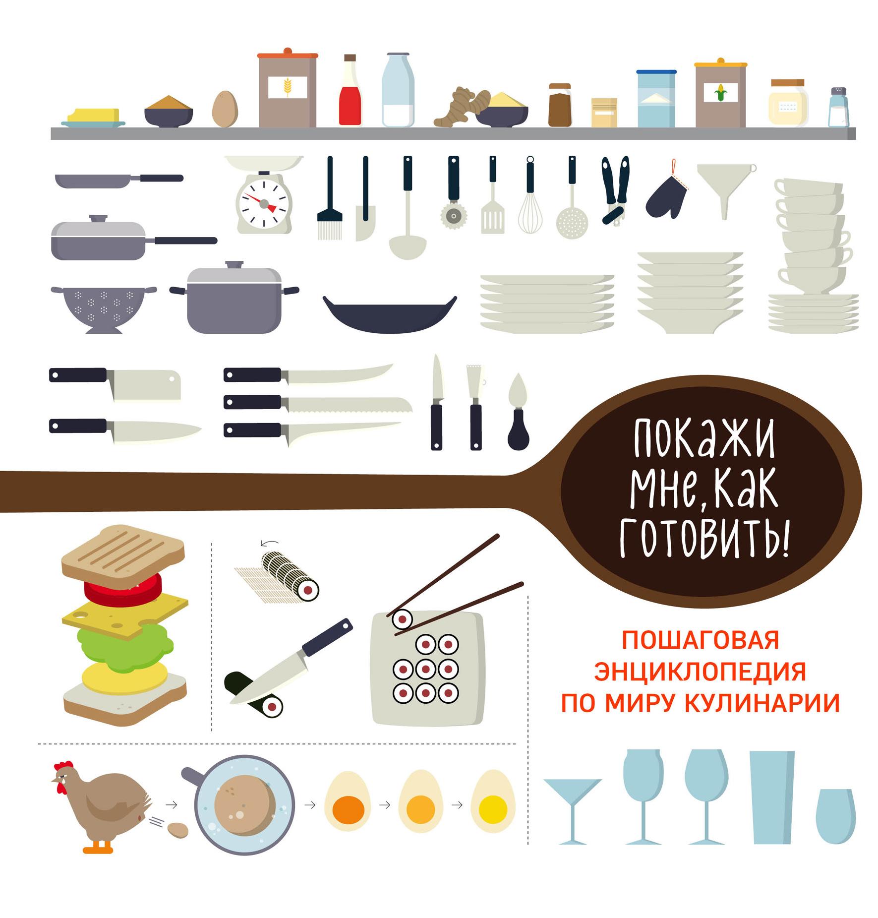 Покажи мне, как готовить! Пошаговая энциклопедия по миру кулинарии