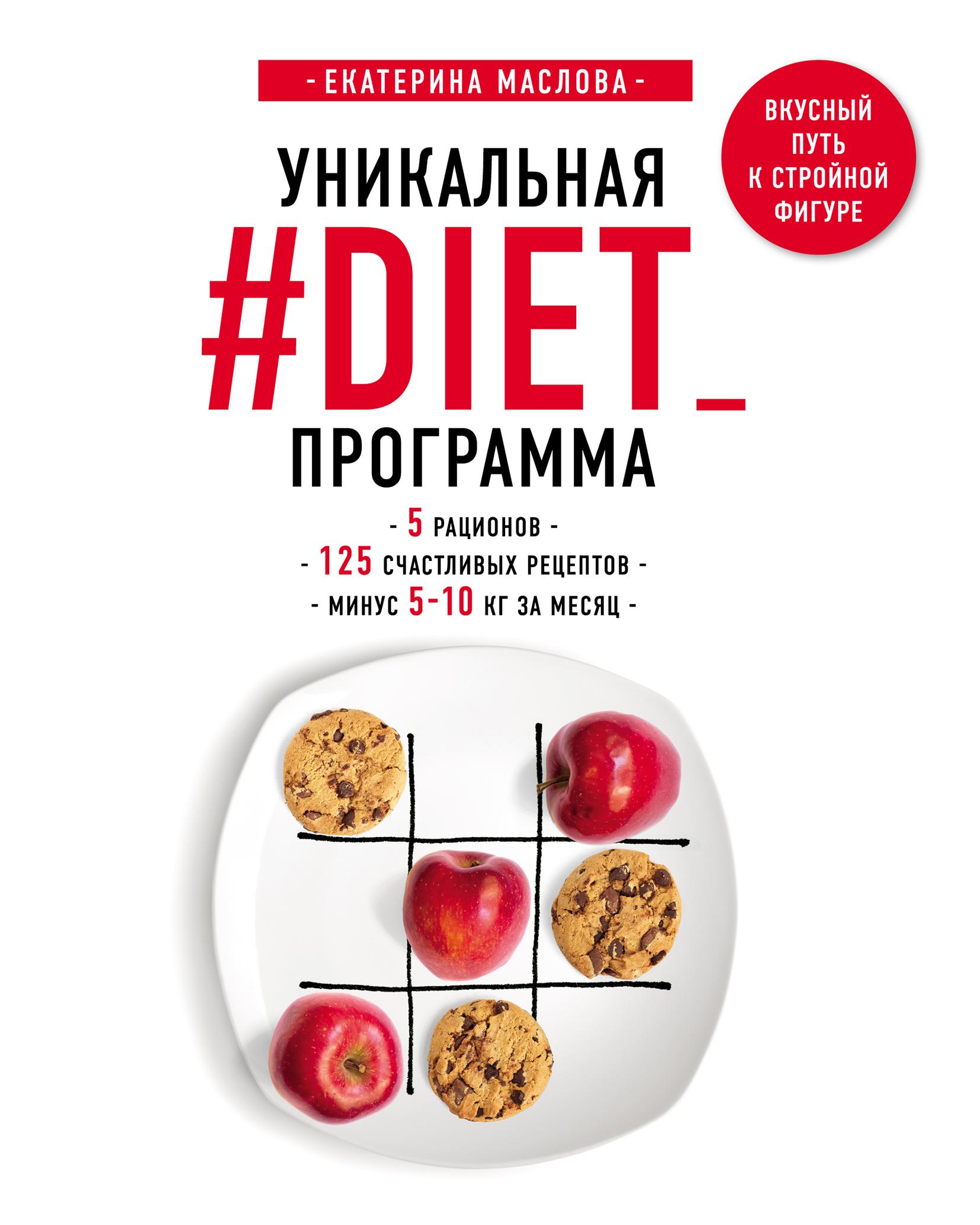 Книга уникальная #diet_программа 5 рационов 125 счастливых.