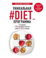 Уникальная #DIET_программа: 5 рационов; 125 счастливых рецептов; минус 5-10 кг за месяц