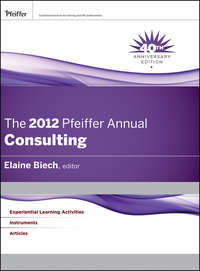 The 2012 Pfeiffer Annual. Consulting