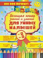 Большая книга знаний и умений для умных малышей от 2 до 5 лет