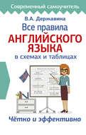 Все правила английского языка в схемах и таблицах