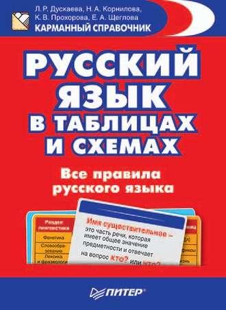 С. А. Матвеев, все правила русского языка в картинках, схемах и.